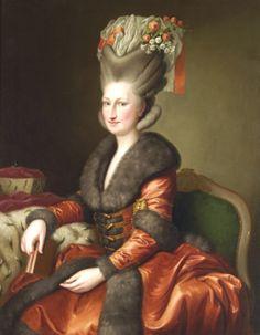 Maria Amelia Augustamalarz saski, ok. 1780