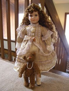 Victorian Porcelain Doll | eBay