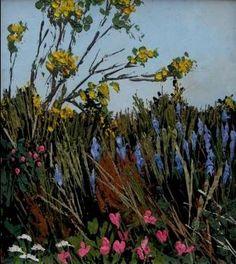David Beer-Early-Summer-Hedgerow.jpg 336×377 pixels