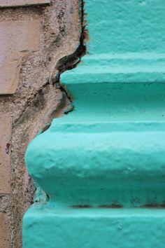 Door Photography Teal Aqua Turquoise Door Print by jessicareisspix