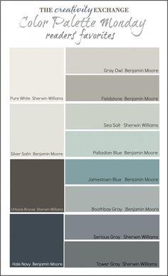 Room colors...