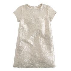 Girls' silk sequin s