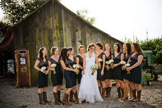 one of our 2013 brides will be wearing cowboy boots on her big day, so i am drawn to anything 'western' right now!