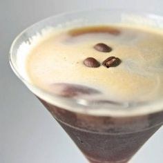 Espresso-Martini: If there is a better cocktail... I haven't met it yet