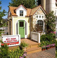 Kid sized playhouse Kit's House