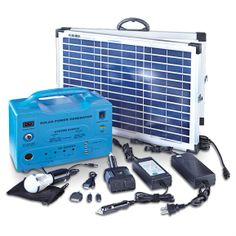 40W Solar-power Generator - 582596, Solar Panels & Kits at Sportsman's Guide.  Lying in wait for it not to be sold out....