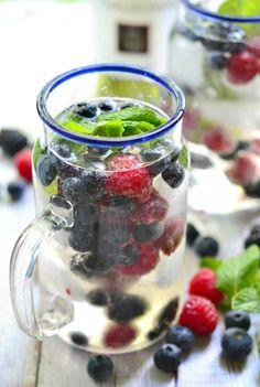 Mixed Berry Wine Spritzer