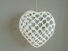 Ravelry: christmas heart ornament variation pattern