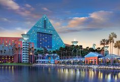 Guests of the Walt Disney World Swan and Dolphin Hotel can enjoy five pools, two health clubs, tennis, nearby golf and many other special Disney benefits such as complimentary transportation to the Walt Disney World® Resort and Extra Magic Hours. #