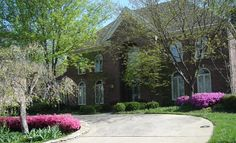 Beautiful landscaped home in Louisville KY