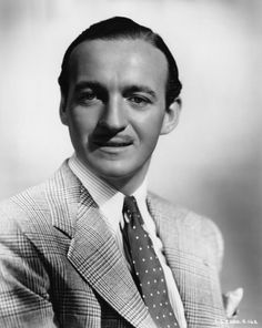 A real inspiration to us at The Merchant Fox. The timeless style of David Niven.