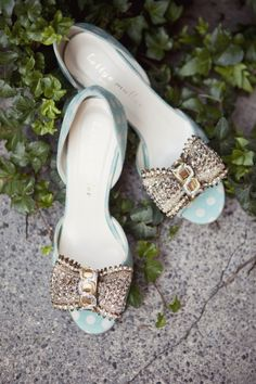 darling embellished shoes from BHLDN // photo by Love Me Do Photography