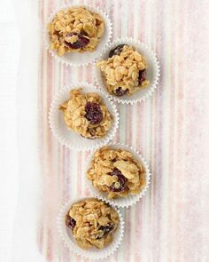 Peanut-Butter Granola Balls Recipe -- These work well as after-school snacks
