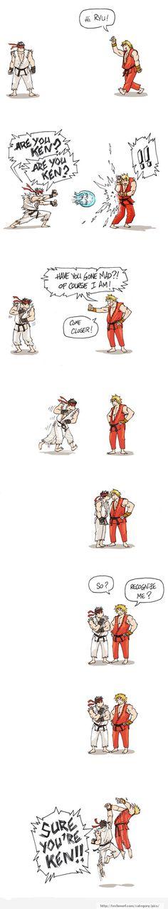 Just Street Fighter...