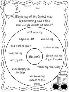 Narrative Writing - Great for back-to-school time! Students will love writing about their summer experiences with this beginning of the school year narrative writing project.
