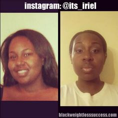 Get Fit or Get Fat Founder Iriel lost 82 pounds | Black Weight Loss Success