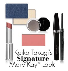 You can get Keiko Takagi's Signature Look yourself with these Mary Kay® products! #MKMakeover