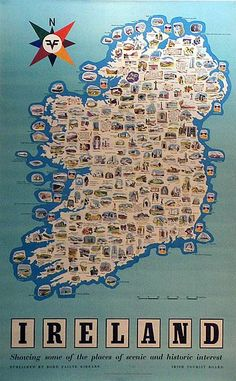 Ireland Map - Places