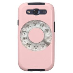 Pink Rotary Phone Samsung Case Galaxy S3 Cases