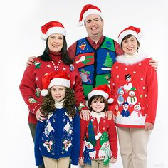 Ugly sweater family