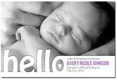 hello world picture birth announcements