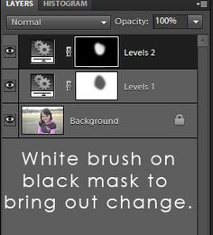 Helpful tutorial for understanding layer masks in Photoshop or Photoshop Elements.
