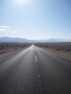 Death Valley, California ...