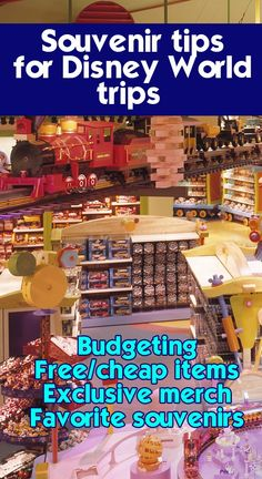 Souvenir tips for Disney World trips - how much to spend, what to buy