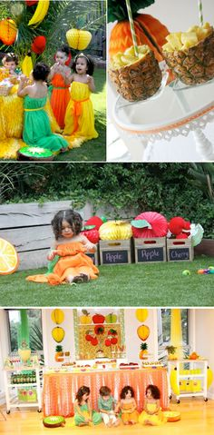 Tutti Frutti Fruit Themed Birthday Party with TONS of CUTE ideas! Via Kara's Party Ideas www.KarasPartyIdeas.com #fruity #tuti #fruit #themed #birthday #party #ideas #idea