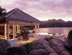 Banyan Tree hotel & Spa, Seychelles  Day 6 (Visit)