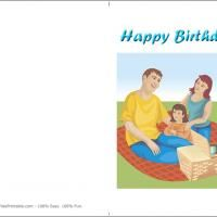 Printable Picnic Birthday - FreePrintable.com