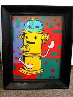 Fire hydrant by nettersart