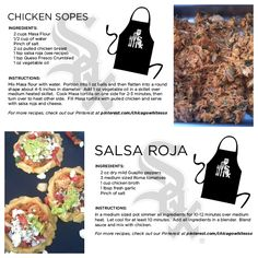 Check out @Chicago White Sox Chef Olegario's Chicken Sopes with Salsa Roja recipe.