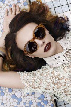 Vintage inspired shades. Love.