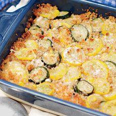 Zucchini, Squash, and Corn Casserole Recipe