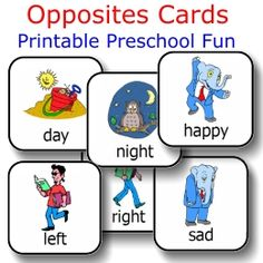 48 cards makes 24 pair of opposites -- $1.95