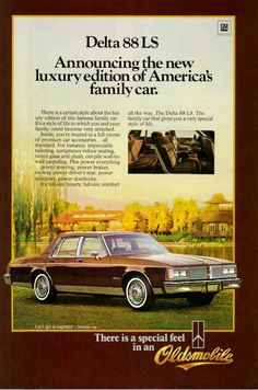 1984 Oldsmobile Delta 88 Luxury Sedan