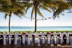 Secrets Capri Riviera Cancun Reception Decor