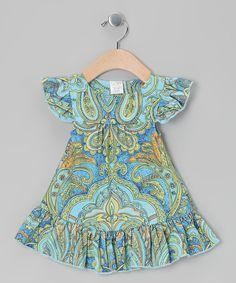 Aqua Laura Angel-Sleeve Dress