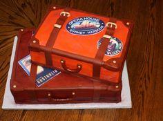 luggage cake Duper Cake, Luggag Cake, Clever Cake, Travel Cake, Cake Cake