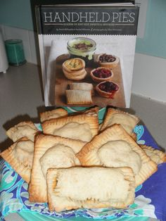 Yummy Chili Relleno pocket pies made from the Handheld Pies book