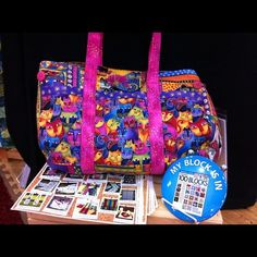 #laurelburch fabulous felines bag from Whistlepig Creek! #clothworks