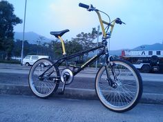 '87 Kuwahara Team freestyle bike