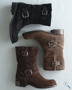Edda Short Italian Suede Boots