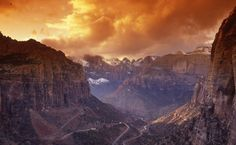Canyon Overlook in Zion National Park!