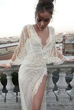 50 gorgeous, wedding dressses, long dresses for weddings, gorgeous wedding dresses, wedding dress detail, cool wedding dresses, beauti, sexy elegant wedding dress, wedding dress shows leg