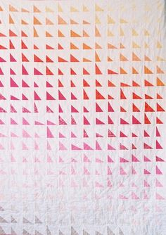 #patchwork, #quilt, #triangles