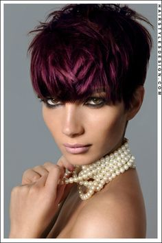 Hair Color [Deep Burgundy]  this is pretty too!