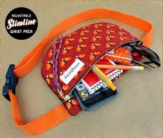 Adjustable Slimline Waist Pack | Sew4Home