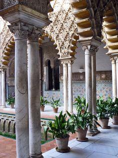 Real Alcazar, Seville,Spain by erosb3k, via Flickr